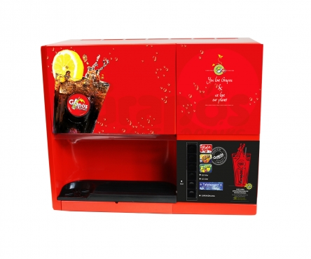 Minipom-Getränkeautomat GA3000 Neuaufbau