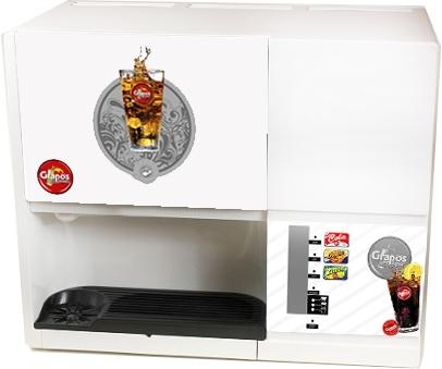 Pomino-Getränkeautomat weiß gebraucht