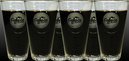 6 Stück - Grapos Exklusiv Gläser 0,3 Liter
