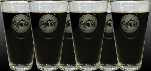 6 Stück - Grapos Exklusiv Gläser 0,2 Liter
