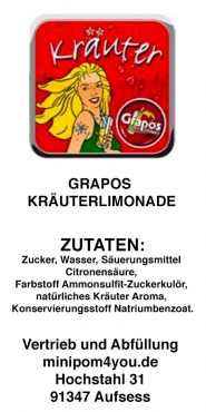 GRAPOS Kräuterlimonade